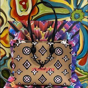 🦁🐅🐯Authentic Louis Vuitton OTG GM Wild Arizona